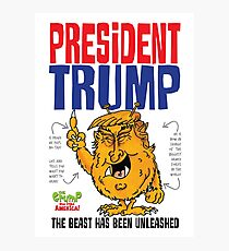 President Grump Photographic Print