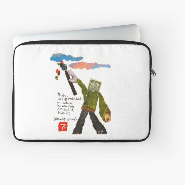 Stamp People Series (Albrecht Durer) Laptop Sleeve