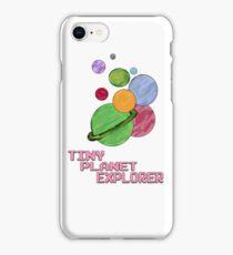 Tiny Planet Explorer iPhone Case/Skin