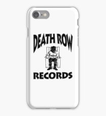 Death Row Records iPhone Case/Skin