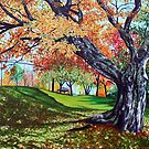 'OCTOBER TREE' by Jerry Kirk