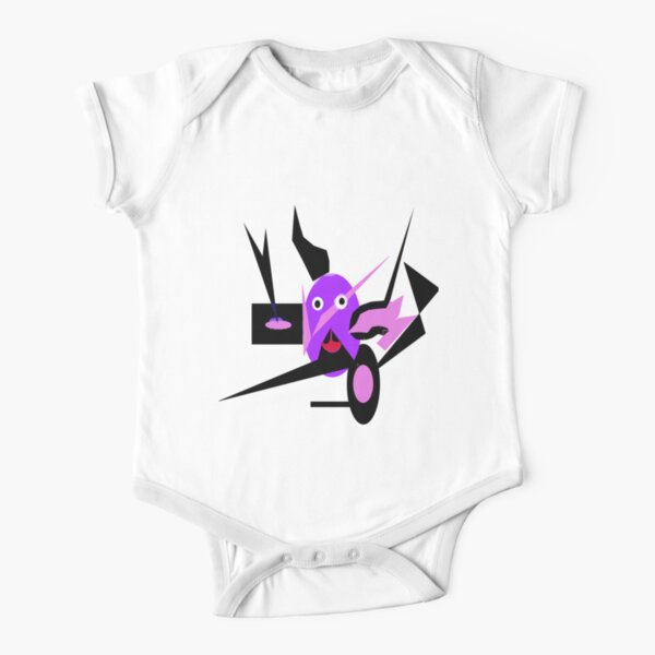 Beware!! Short Sleeve Baby One-Piece