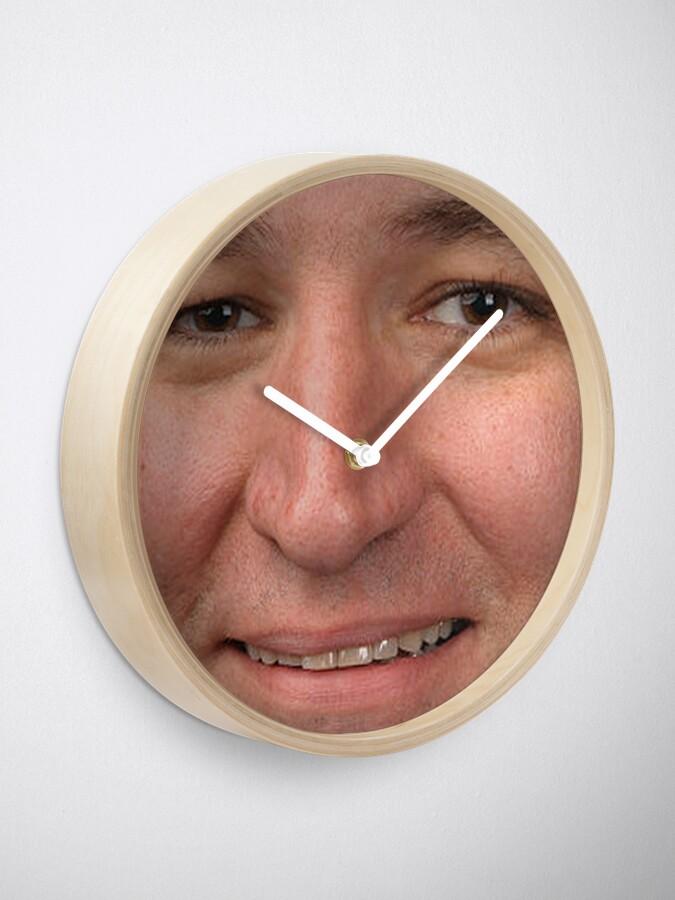 Alternate view of ted cruz Clock