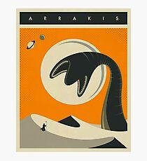 ARRAKIS TRAVEL POSTER Photographic Print