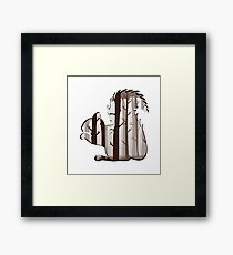 FORAGE AHEAD Framed Print