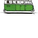 Future Bus - green by bulldawgdude