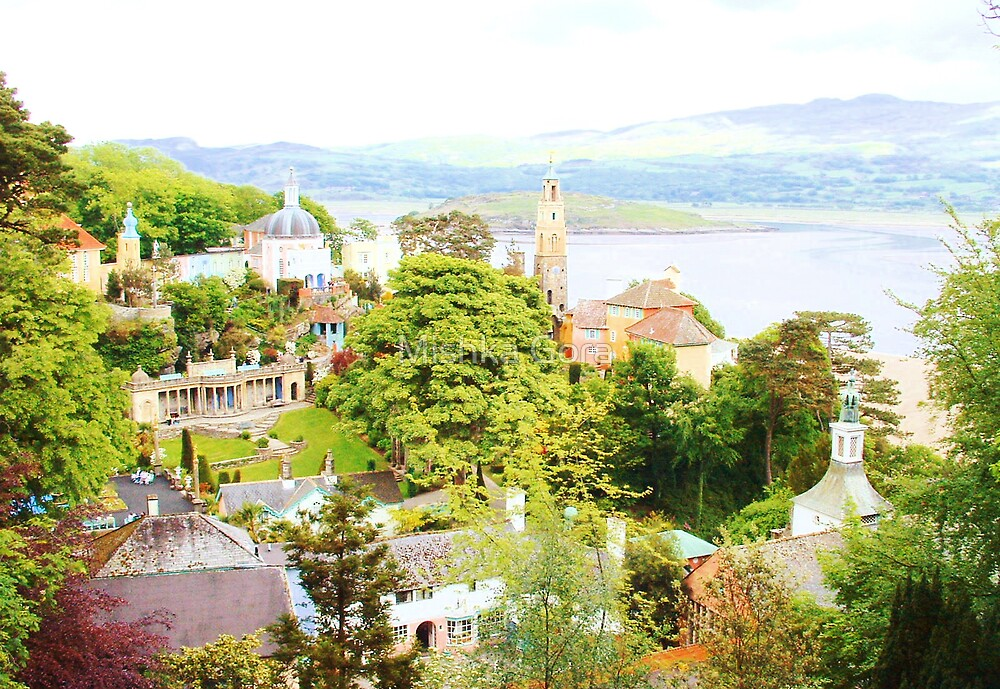 Portmeirion Vista by Mishka Gora