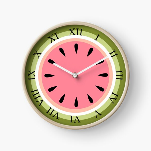 Watermelon Clock Clock