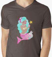 Mermaid Sprinkles Men's V-Neck T-Shirt