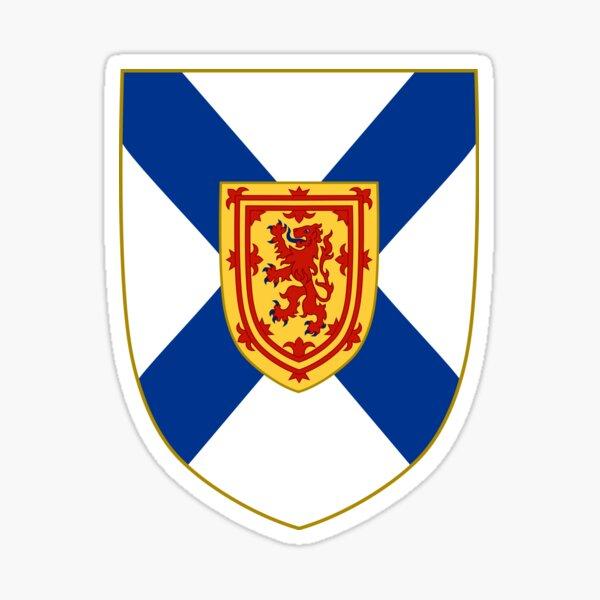 Coat of Arms of Nova Scotia, Canada Sticker