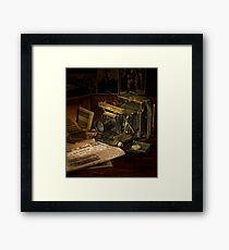 Portrait of a Camera Framed Print