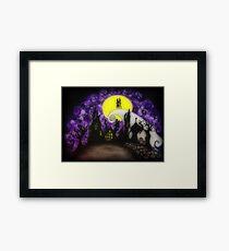 Forever Halloween Nightmare Love Framed Print
