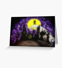 Forever Halloween Nightmare Love Greeting Card