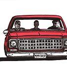 MMM DROP in red by bulldawgdude
