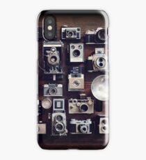 vintage cameras 35mm  iPhone Case/Skin