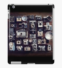 vintage cameras 35mm  iPad Case/Skin