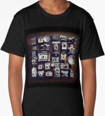 vintage cameras 35mm  Long T-Shirt