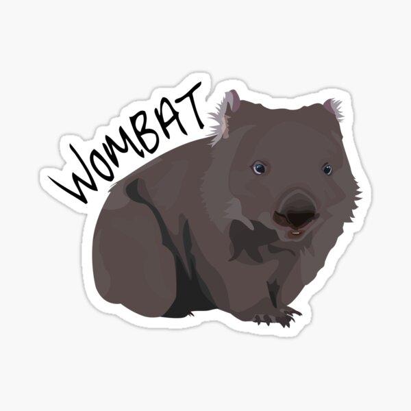 Wombat Sticker