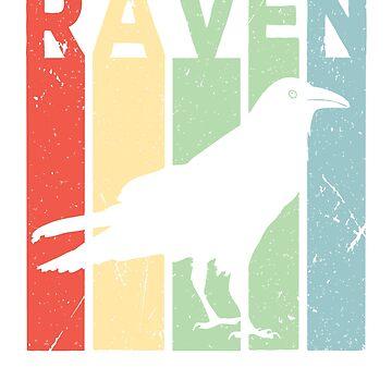 Raven Vintage Retro by prosperousjewel