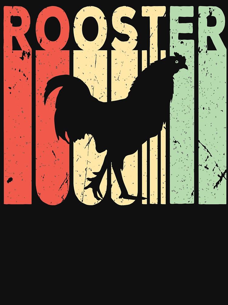Rooster Vintage Retro by prosperousjewel