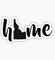 IDAHO STATE HOME Sticker