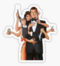 Octopussy James Bond Sticker