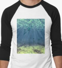 Underwater Men's Baseball ¾ T-Shirt