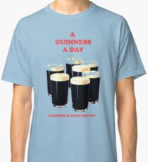 a pint a day Classic T-Shirt