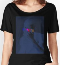 Blue Frank Censored Women's Relaxed Fit T-Shirt
