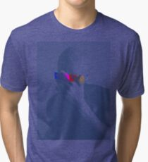 Blue Frank Censored Tri-blend T-Shirt