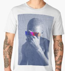 Blue Frank Censored Men's Premium T-Shirt