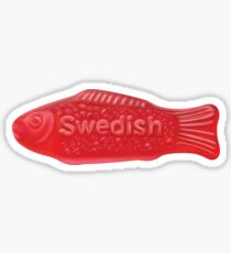 Swedish Fish Sticker