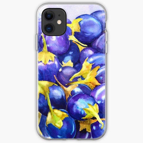 Purple abundance  iPhone Soft Case