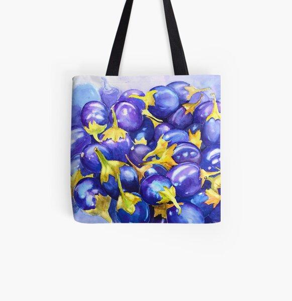 Purple abundance  All Over Print Tote Bag