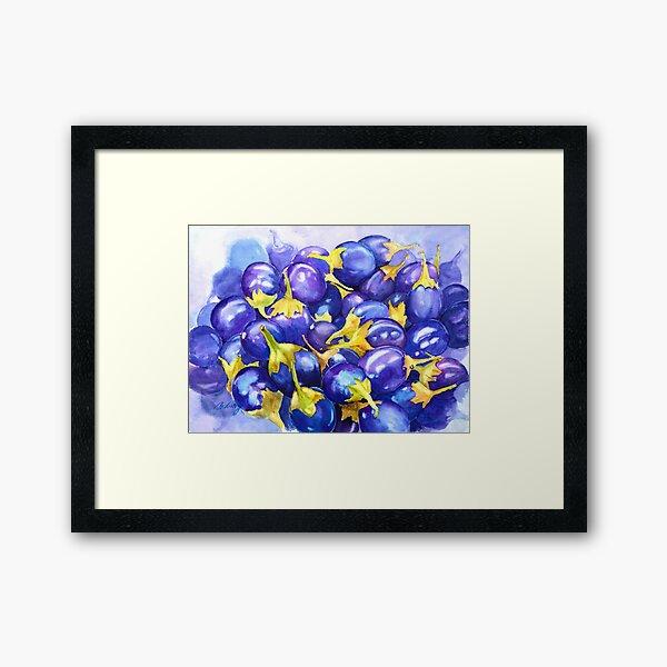 Purple abundance  Framed Art Print