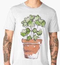 Herbs in pots - Parsley  Men's Premium T-Shirt