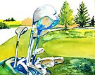 Golf series - Great anticipation by bettymmwong