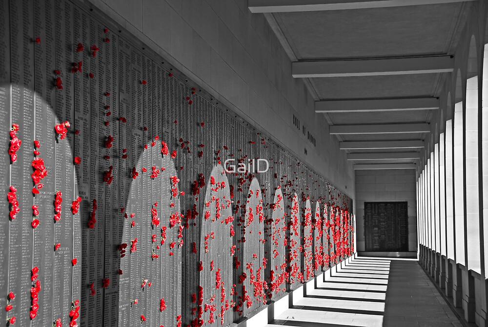 Roll of Honour - War Memorial - Canberra by GailD