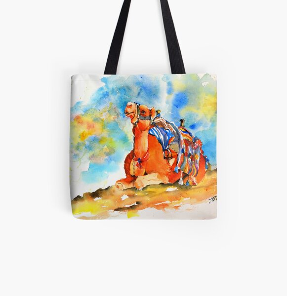Desert comfort All Over Print Tote Bag