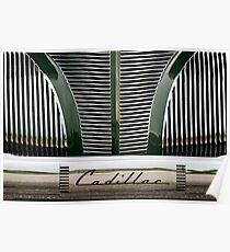 '39 Cadillac Poster