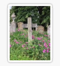 Brompton Cemetery, London. Sticker