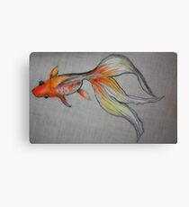 Goldfish Pond (close up #6) Canvas Print