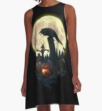 Halloween Theme A-Line Dress