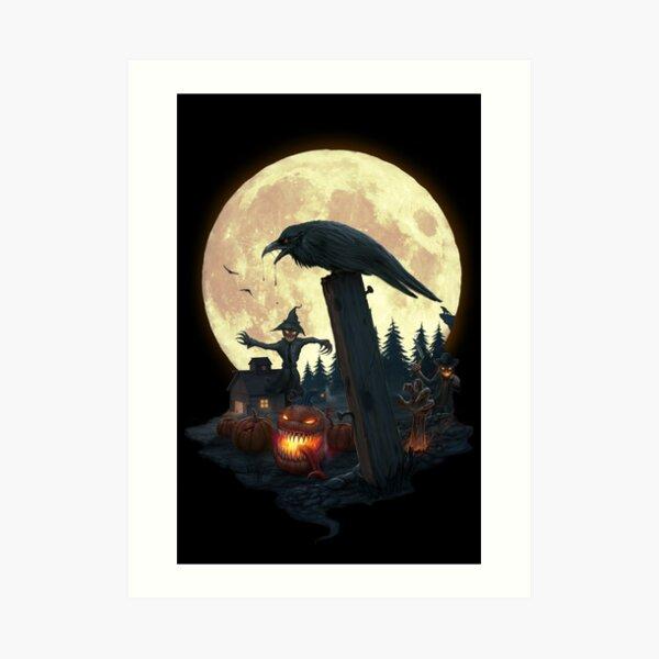 Halloween Theme Art Print