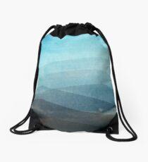 Aquamarine Drawstring Bag