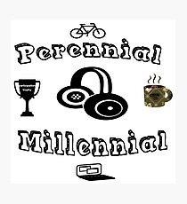 Perennial Millennial Photographic Print