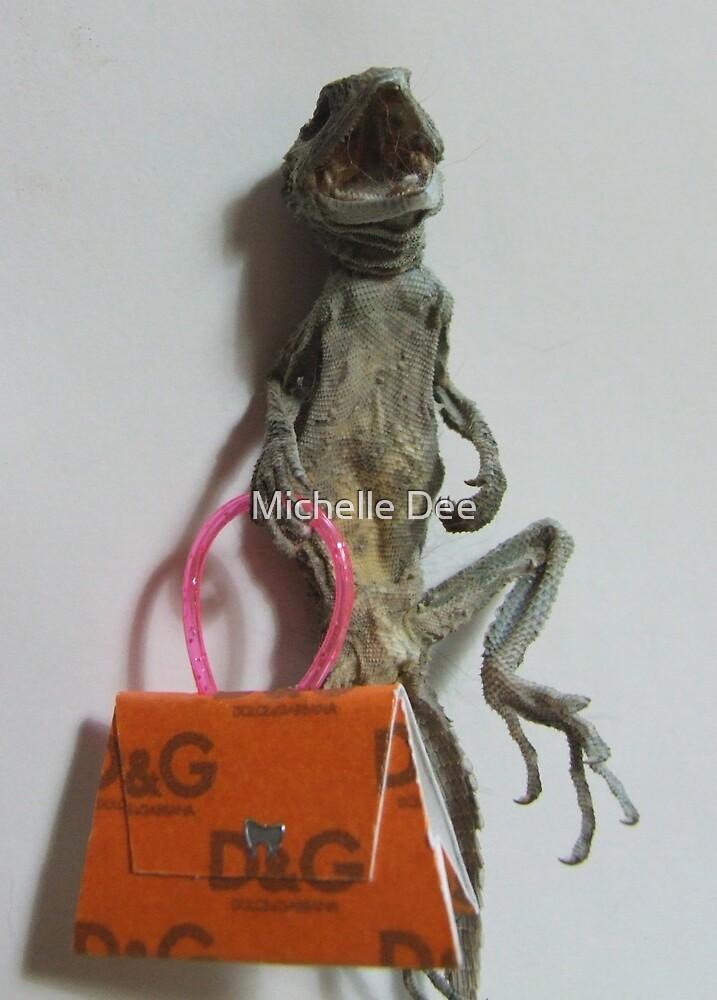 Handbag Addict  (Lizard Series) by michelleduerden
