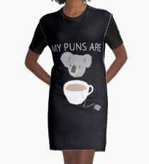 """Vestido camiseta Juegos de palabras """"Koala Tea"""""""