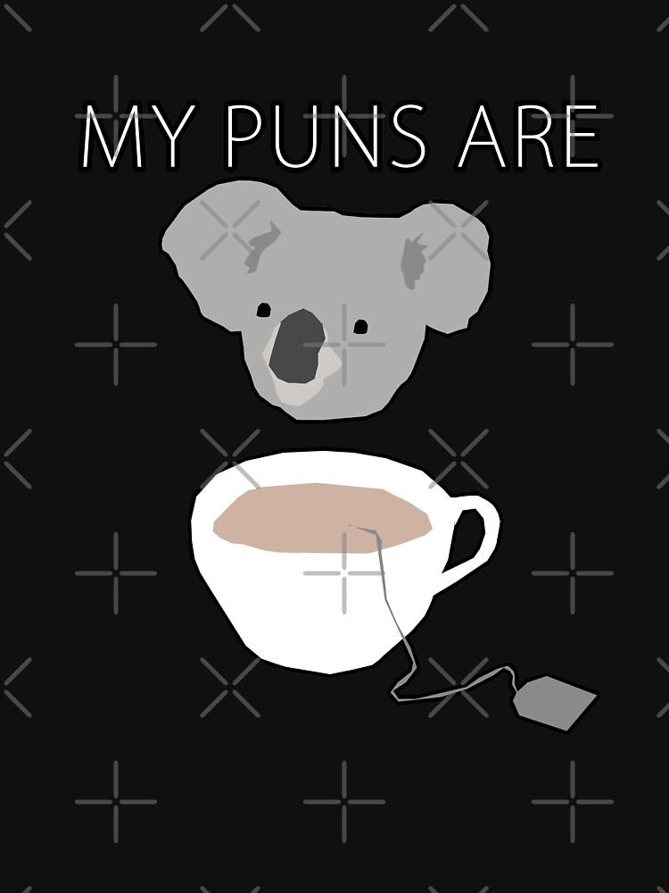 """Koala Tea"" Wortspiele von Treeshius"
