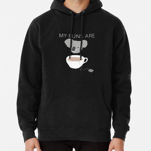 """Koala Tea"" puns Pullover Hoodie"